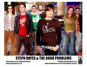 PERMANENT RECORDS recording artist Steph Hayes and The Good Problems  world cafe live
